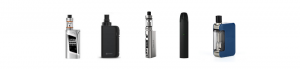 Variety of disposable vape kits for beginners